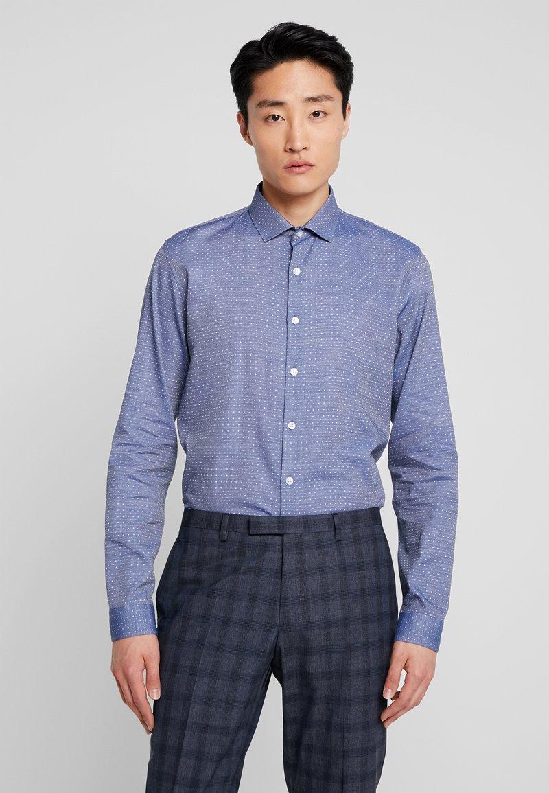 Lindbergh - SLIM FIT - Formální košile - mid blue