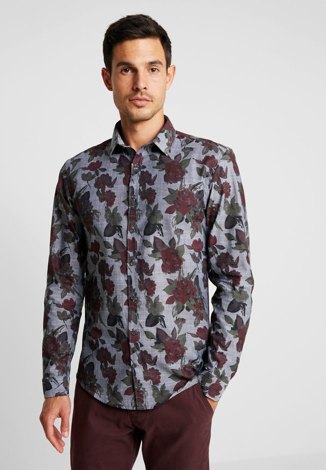 CHAMBRAY SHIRT  - Shirt - black
