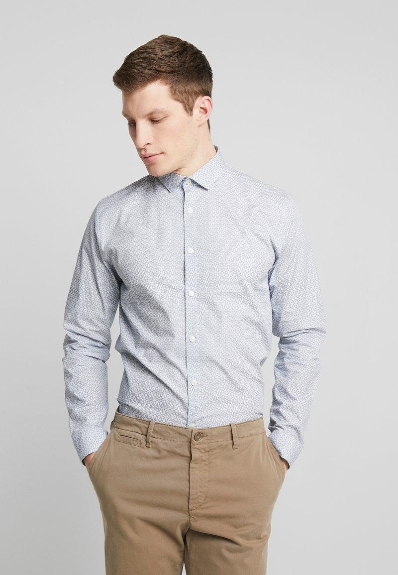 Lindbergh - GRAPHIC PRINT - Skjorte - mid blue