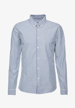 STRIPED - Formal shirt - mid blue