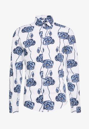 FLORAL PRINT - Koszula - blue