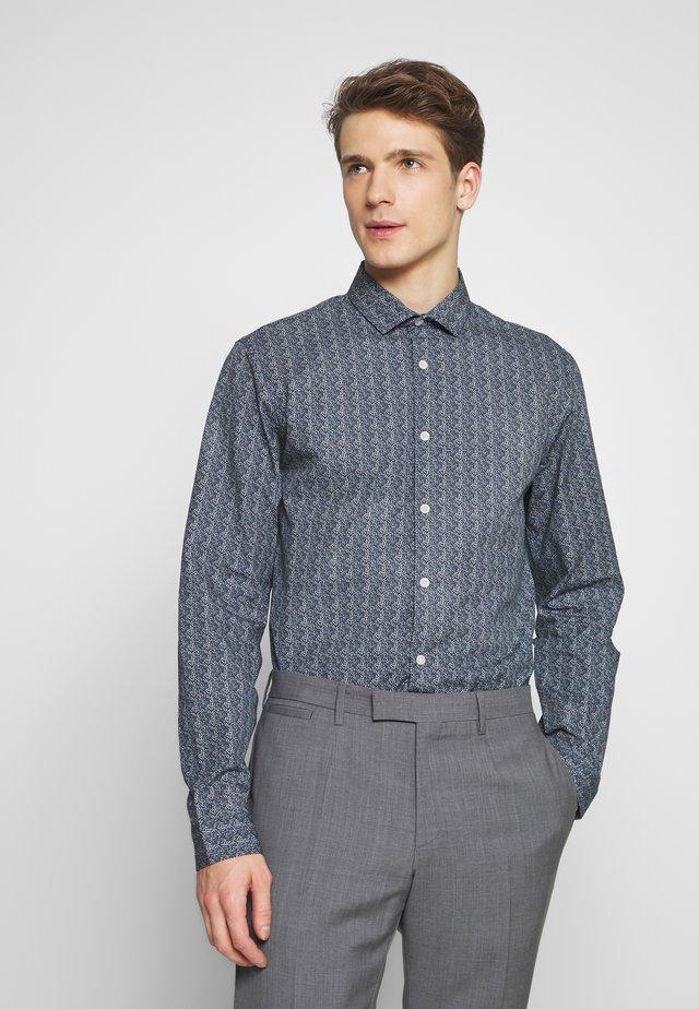 PRINTED - Formal shirt - dark blue