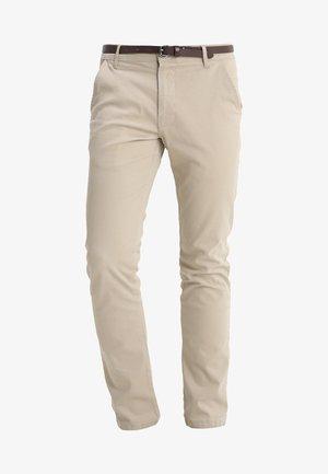 CLASSIC STRETCH BELT - Kalhoty - sand