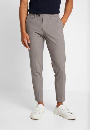 Oblekové kalhoty - sand mel