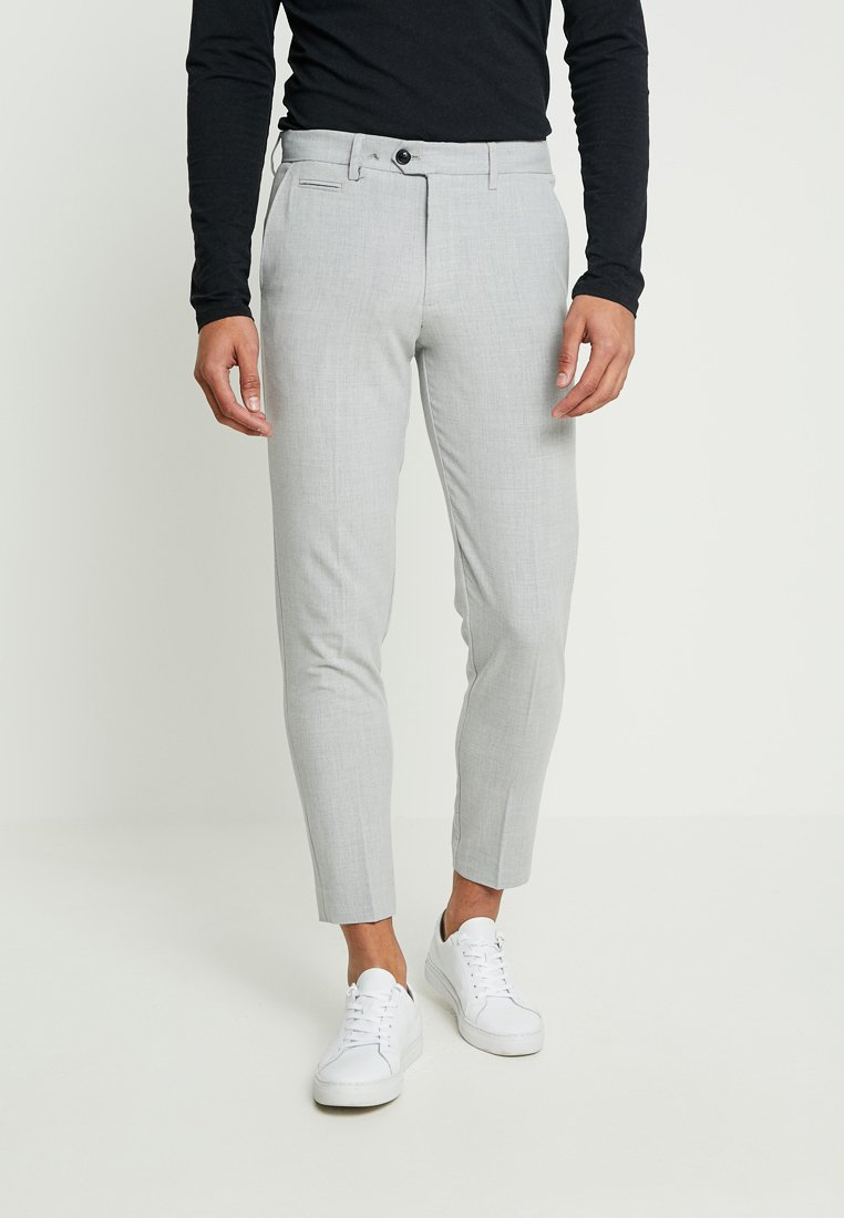 Lindbergh - SUIT PANTS - Broek - grey mix