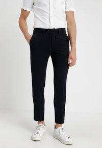 Lindbergh - Oblekové kalhoty - navy - 0