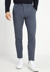 Lindbergh - SUIT PANTS - Trousers - blue mix - 0