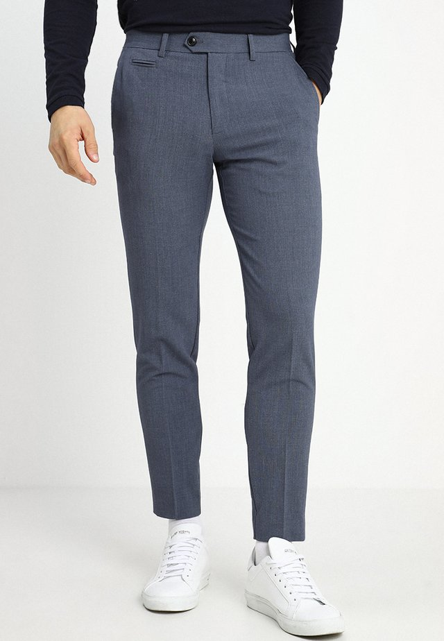 Suit trousers - blue mix