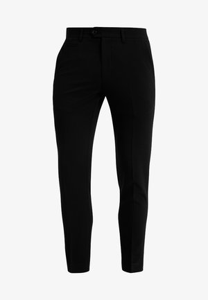 SUIT PANTS - Pantalones - black
