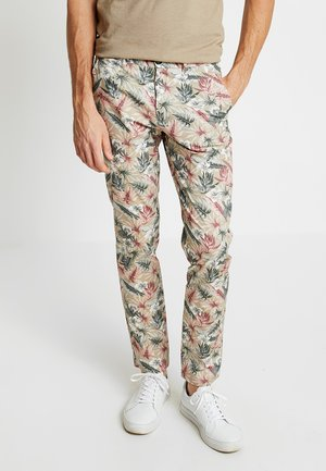 PALM TROUSERS - Chinosy - beige