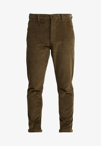 Lindbergh - CROPPED PANTS - Bukser - army - 4