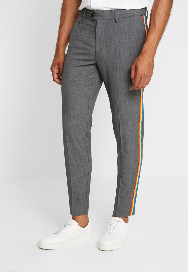 TROUSERS PRIDE - Pantaloni - grey mix