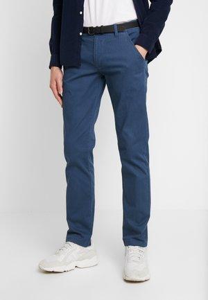 Pantalones chinos - aqua blue