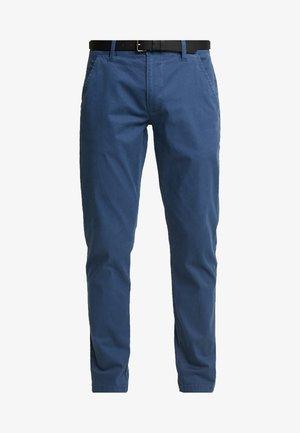 Chino kalhoty - aqua blue