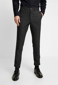 Lindbergh - CLUB PANTS CHECKED - Kalhoty - grey - 0