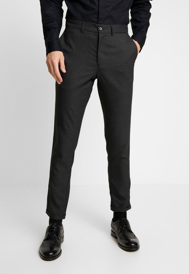 Lindbergh - CLUB PANTS CHECKED - Kalhoty - grey