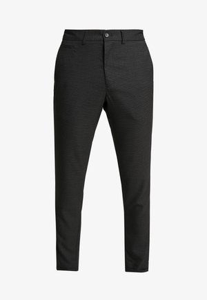 CLUB PANTS CHECKED - Kalhoty - grey