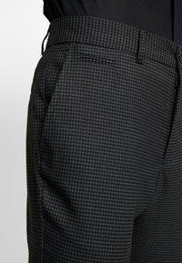 Lindbergh - CLUB PANTS CHECKED - Kalhoty - grey - 5