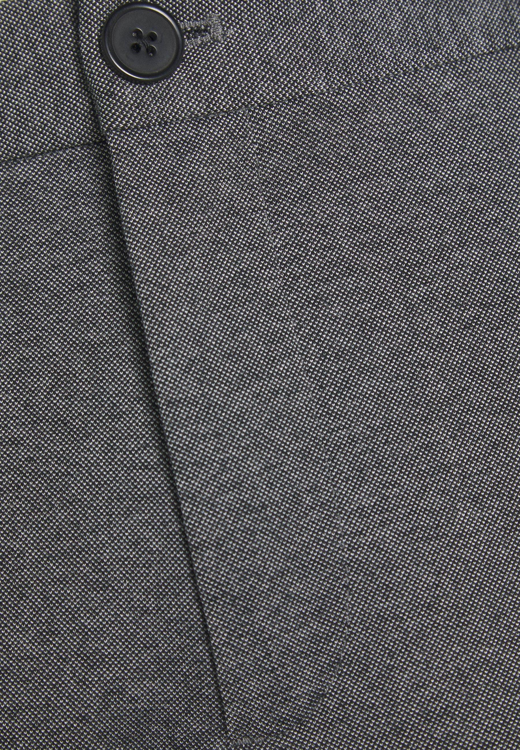 Lindbergh Knitted Cropped Pants - Chinot Grey Mix