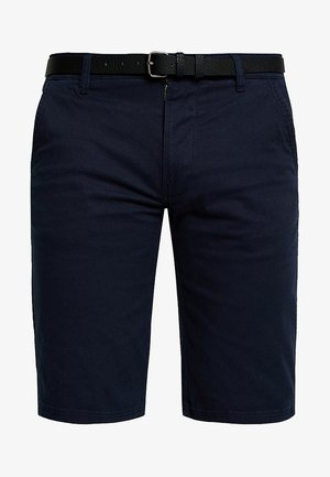 CLASSIC CHINO BELT - Shorts - navy