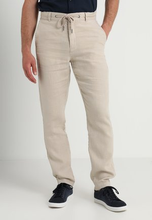 PANTS - Pantalones - sand