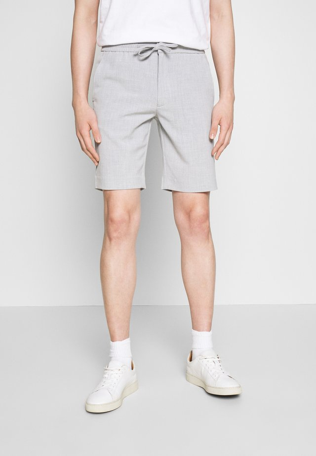 RELAXED SUIT - Shorts - grey