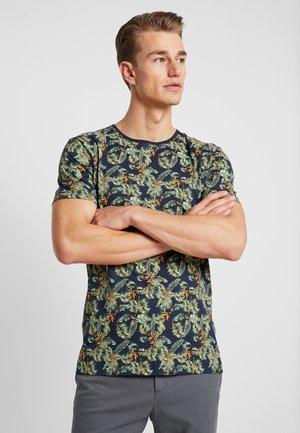 TEE - T-shirt med print - dark blue
