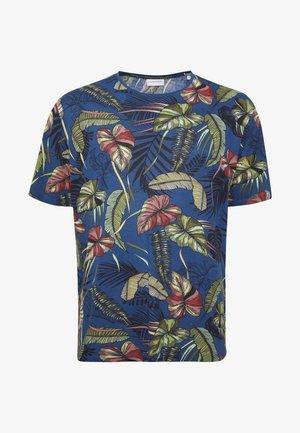 PLUS - Print T-shirt - blue