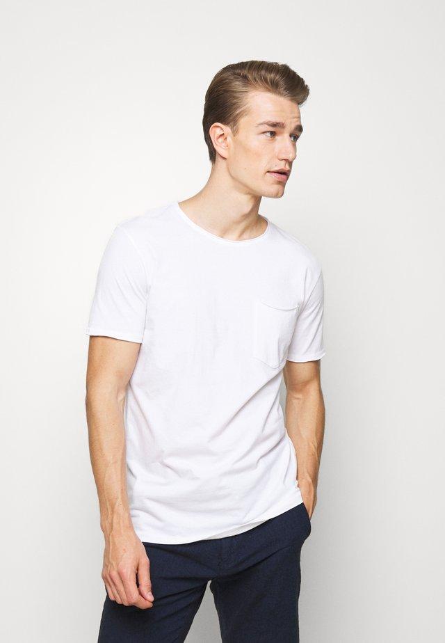 WASHED TEE - T-shirt basic - white