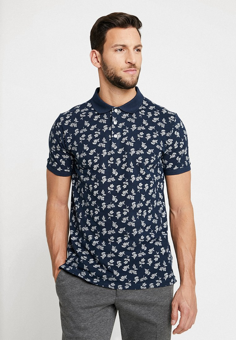 Lindbergh - PRINTED - Polo - dark blue