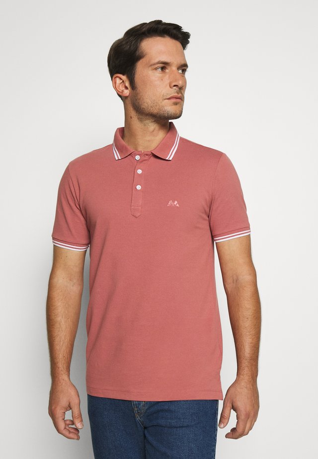 CONTRAST PIPING - Polo - pale rose