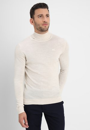 ROLL NECK - Stickad tröja - off white