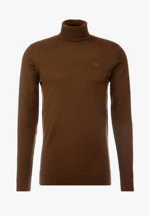 ROLL NECK - Jumper - brown