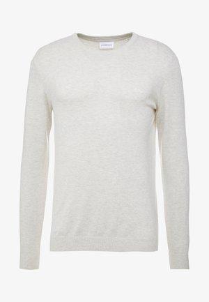 ROUND NECK - Pullover - off white melange