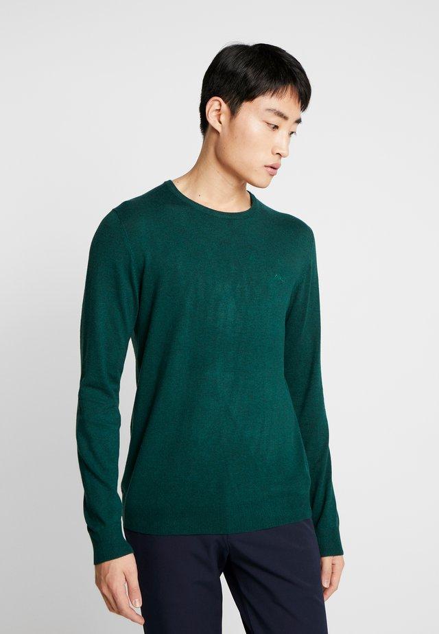 ROUND NECK - Jumper - mid green