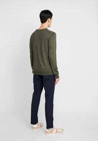 Lindbergh - ROUND NECK - Neule - army - 2