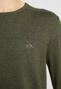 Lindbergh - ROUND NECK - Neule - army - 5