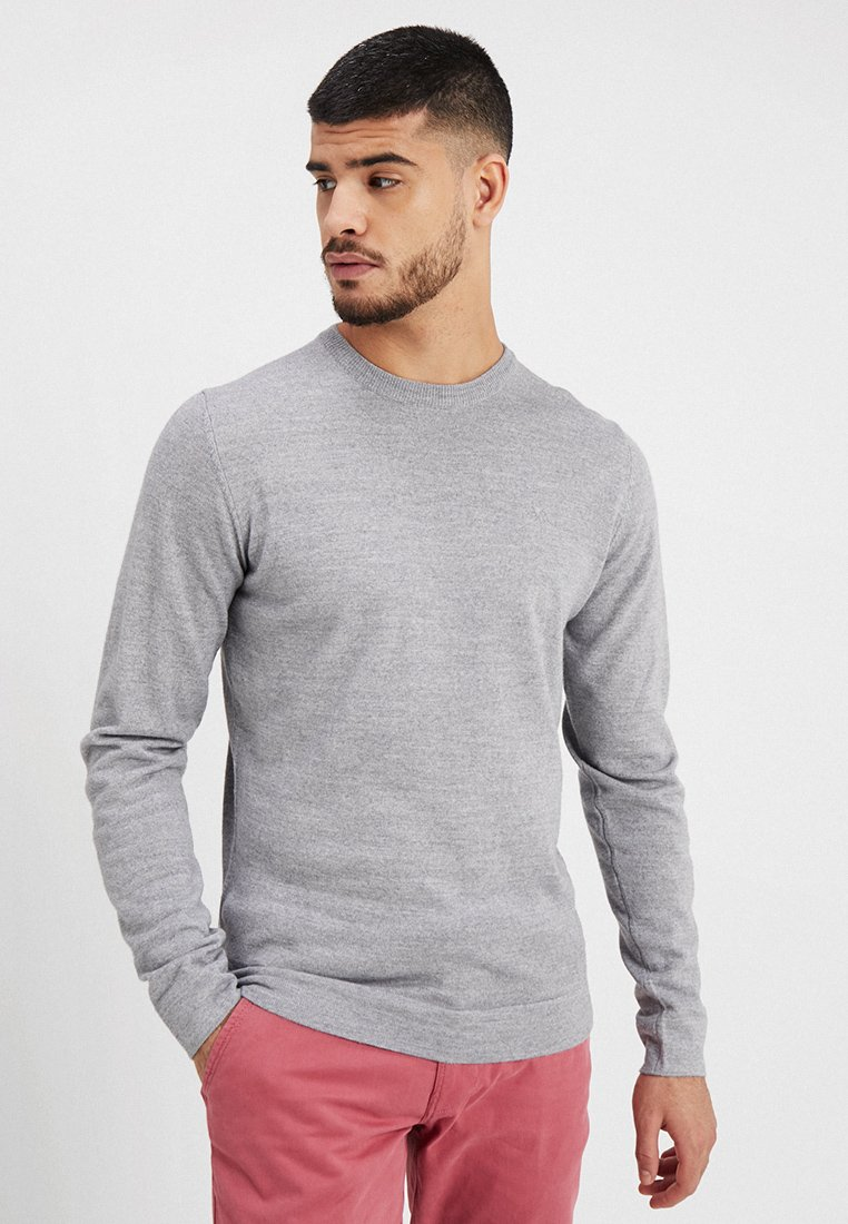 Lindbergh - O-NECK - Pullover - grey mix