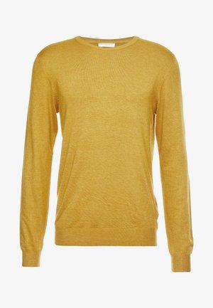 ROUND NECK  - Svetr - mustard melange
