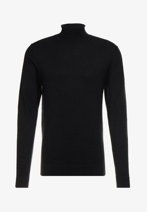 ROLL NECK - Sweter - black