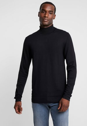 ROLL NECK - Pullover - black