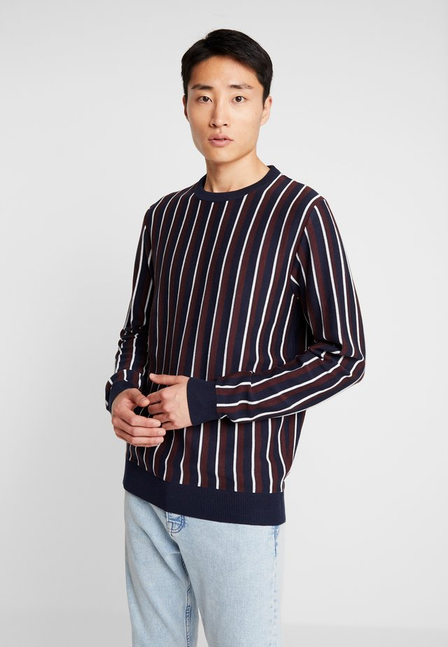 VERTICAL STRIPE - Maglione - dark blue