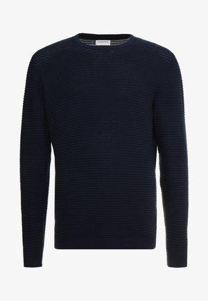 STRUCTURE  - Strikpullover /Striktrøjer - dark blue
