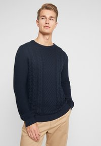 Lindbergh - CABLE - Trui - navy - 0