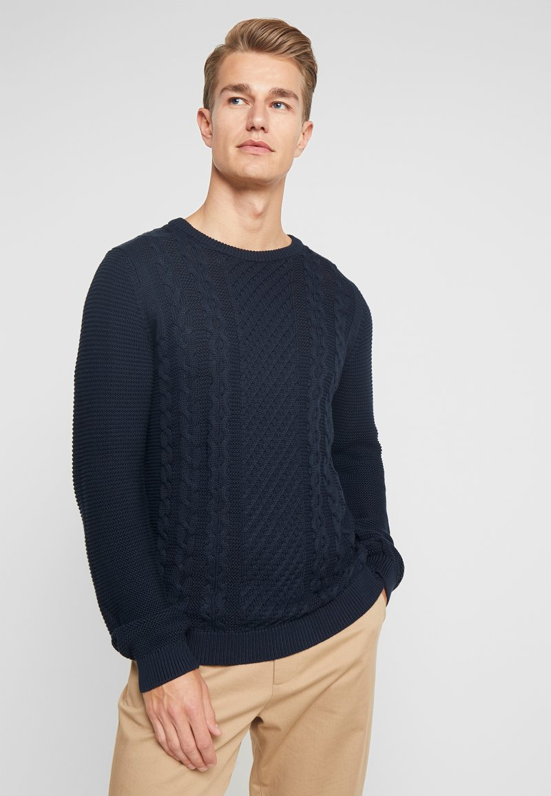 Lindbergh - CABLE - Trui - navy
