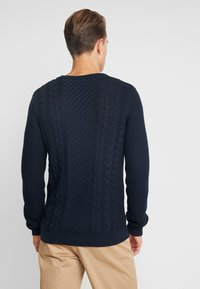 Lindbergh - CABLE - Trui - navy - 2