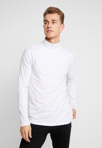 Lindbergh - TURTLE NECK TEE - Långärmad tröja - white - 0