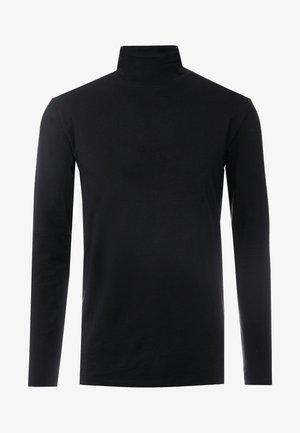 TURTLE NECK TEE - T-shirt à manches longues - black