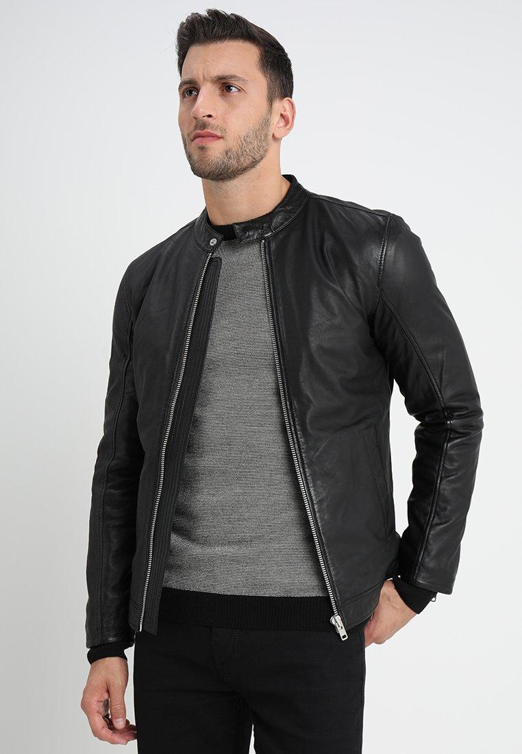 Lindbergh - Leather jacket - black