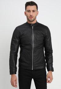 Lindbergh - Leather jacket - black - 3